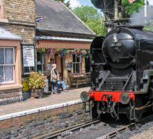 The Train Arriving On Platform One Sticker