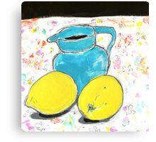 free lemons 1 Canvas Print