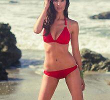 Hotness on the Sand by Jeremy Lusk