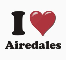 I Heart Airdales by HighDesign