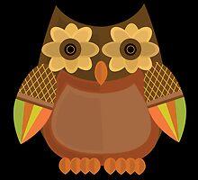 Harvest Owl - Brown 2 by Adamzworld