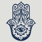 Hamsa - Hand of Fatima, protection amulet, symbol of strength and happiness by nitty-gritty