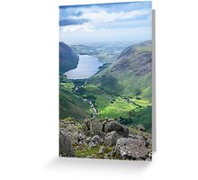 Wast Water, Lake District National Park Greeting Card