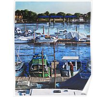 Southampton River Itchen from Cobden Bridge Poster
