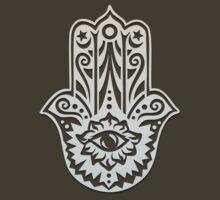 Hamsa - Hand of Fatima, protection symbol T-Shirt