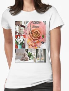 bonjour Womens Fitted T-Shirt