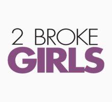 2 Broke Girls Logo by ilikeearth