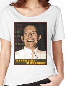 Too many dicks in the cabinet..too many dicks Women's Relaxed Fit T-Shirt