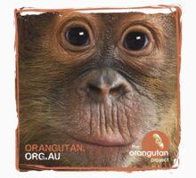 Orangutan Eyes - Windows to their Soul Kids Clothes