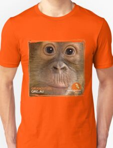Orangutan Eyes - Windows to their Soul Unisex T-Shirt