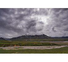 Denali Storm Photographic Print
