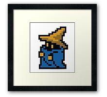8 Bit Wizard/Dark Mage Framed Print