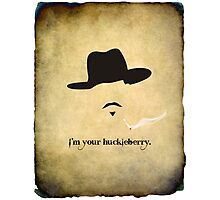 Huckleberry Finale Photographic Print
