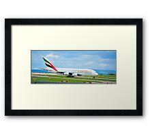 Airbus A380 Framed Print