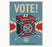 Retro Voting Poster. by Eugenenoguera