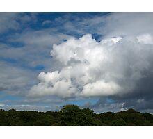 Cumulus Clouds Photographic Print