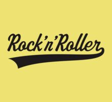 Rock 'n' Roller (Black) Kids Clothes