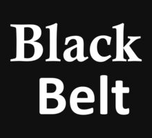 Black Belt by linwatchorn
