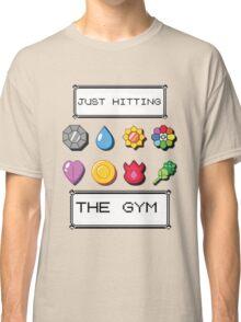 Pokemon hitting the gym Classic T-Shirt