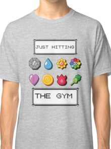 Pokemon hitting the gym Classic T-Shirt