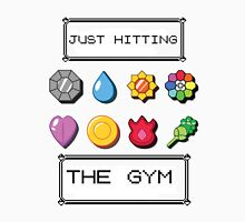 Pokemon hitting the gym Unisex T-Shirt