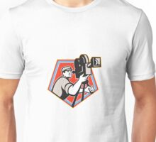 Cameraman Vintage Film Reel Camera Retro Unisex T-Shirt