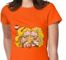 Chibi Gemini Womens Fitted T-Shirt