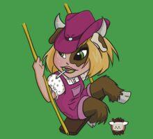 Chibi Taurus Baby Tee