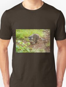What hole? Racoon Unisex T-Shirt