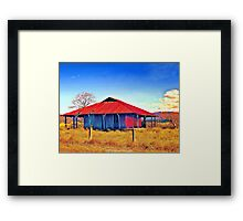 The Red Roof Framed Print