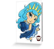 Chibi Aquarius Greeting Card