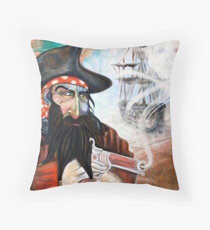 Captains Curse Throw Pillow