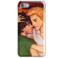 Enjolras and Grantaire close up iPhone Case/Skin