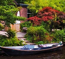 Idyllic Village Giethoorn. Venice of the North by JennyRainbow