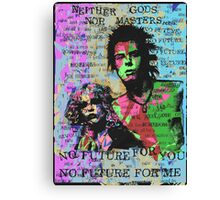 Neither Gods Nor Masters. Canvas Print