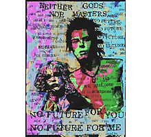 Neither Gods Nor Masters. Photographic Print