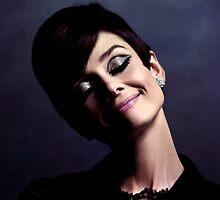 Audrey Hepburn Portrait by Gabriel T Toro