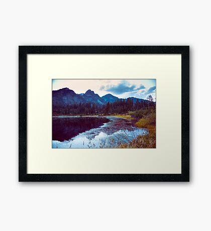 Cold November Framed Print