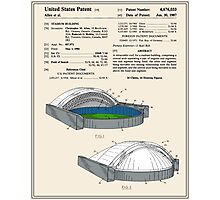 Stadium Patent - Colour Photographic Print