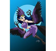 Celebrate Monster Girls - The Harpy Photographic Print