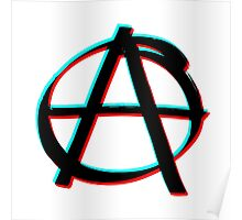 Anarchy in 3D Poster