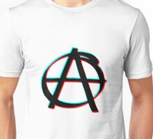 Anarchy in 3D Unisex T-Shirt