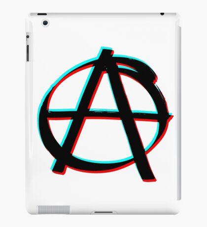 Anarchy in 3D iPad Case/Skin