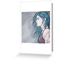 Broken Mirror Greeting Card