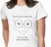 First Rule of Comic-Con... Womens Fitted T-Shirt