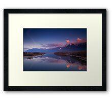 British Columbia Framed Print