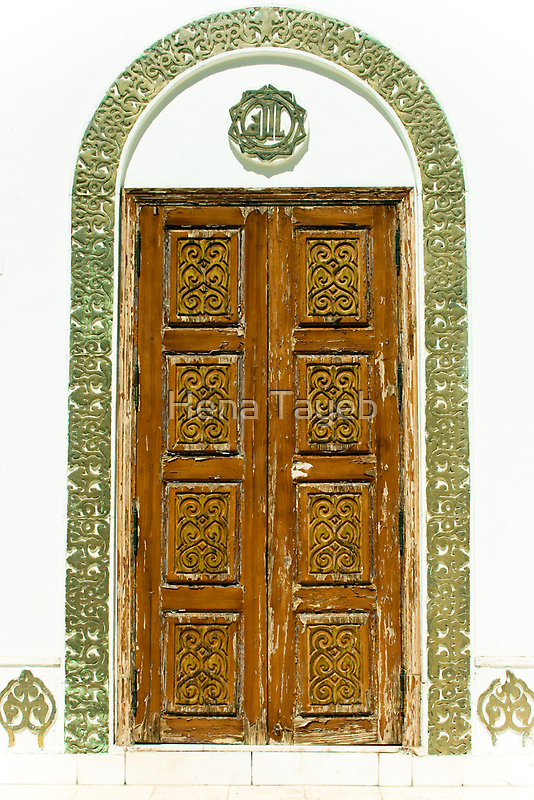 Mustard Door by Hena Tayeb