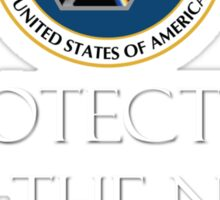 Protected by the NSA Sticker