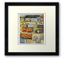 Try a little comics in your life Framed Print