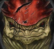 Wrex Fan Art Mass Effect by PandorasEncore